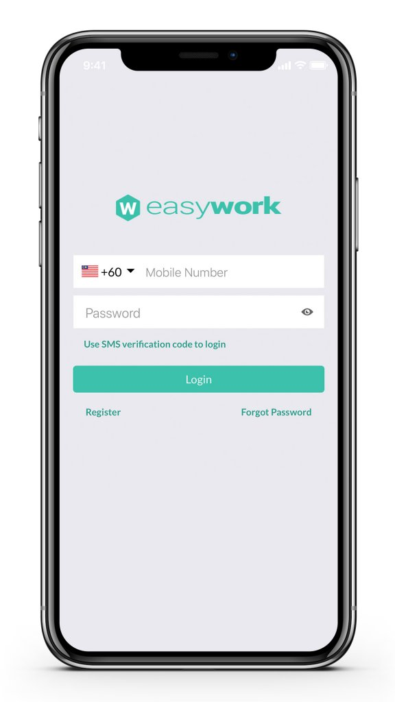 EasyWork login
