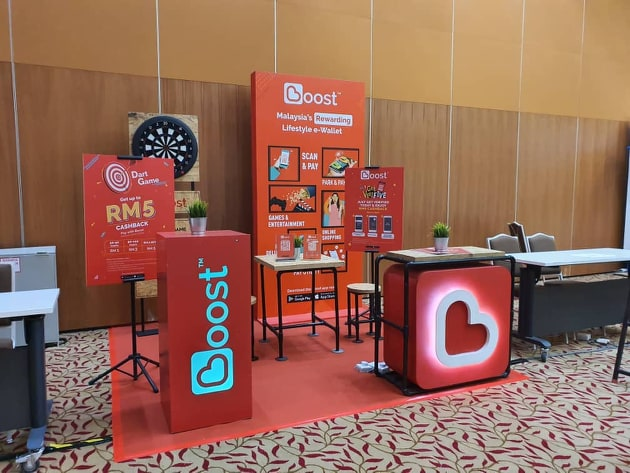 Boost booth